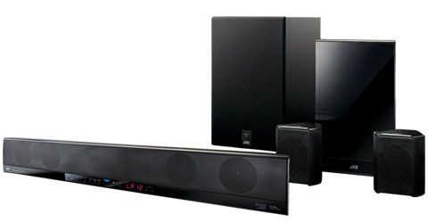 JVC THBA3 soundbar speaker systems