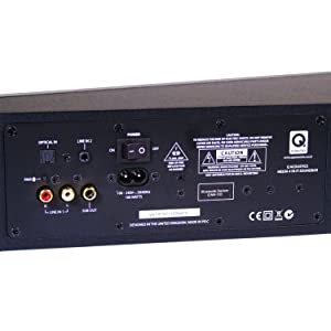 Q Acoustics M-4 connections