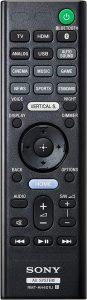 Sony's HT-X9000F control