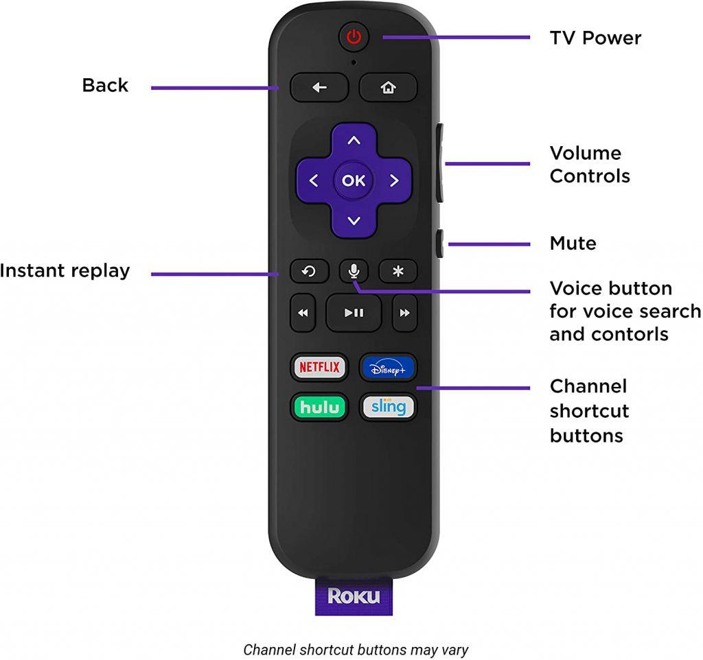 Roku Smart Soudbar - remote control