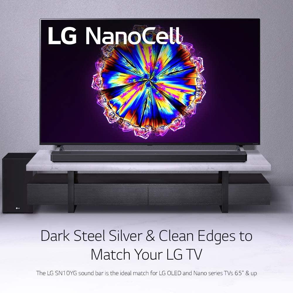 LG SN10YG Soundbar performance