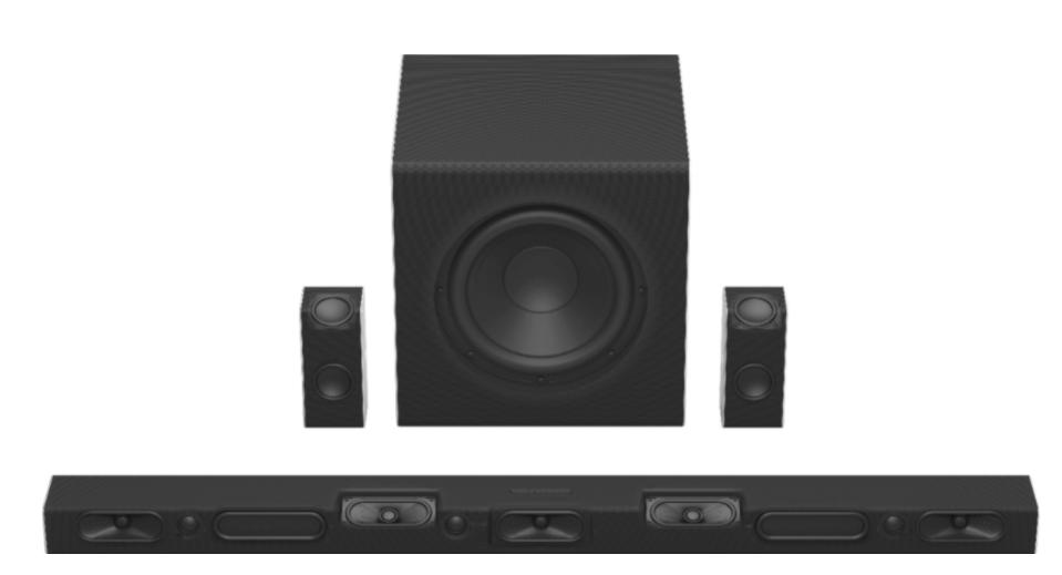 VIZIO 5.1.4 Channel Soundbar design and build